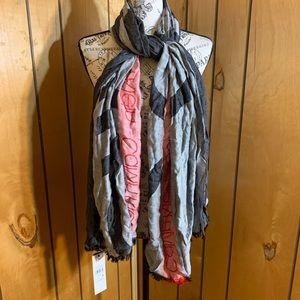 Calvin Klein blanket scarf